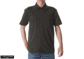 直接刺繍 ミリタリーシャツ オリジナル刺繍 オーダー刺繍 ネーム刺繍 オリジナルミリタリーシャツ