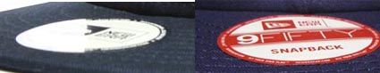 ニューエラ NEWERA オリジナル刺繍 スナップバック snapback 9fifty 950 刺繍キャップ