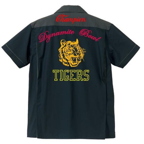 オリジナル刺繍 ボウリングシャツ bowling shirts スカジャン アロハ