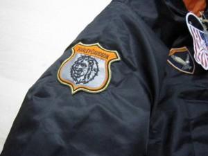 オリジナル刺繍 MA-1 ロスコ ROTHCO アルファ alfa