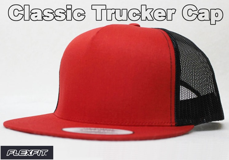 オリジナル刺繍 トラッカーキャップ trucker 刺繍キャップ 帽子 メッシュキャップ フラットビル ニューエラ newera