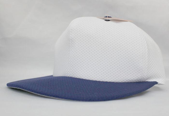 ナショナルハット national hat オリジナル刺繍 刺繍キャップ 野球帽 ベースボールキャップ オールメッシュ ニット 6方 8方 八方