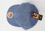 ニューハッタン newhattan オリジナル刺繍 刺繍キャップ デニムキャップ denim フラットビル flatbill flatvisor newera ニューエラ