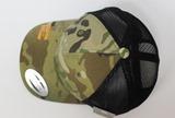 オリジナル刺繍 刺繍キャップ トラッカーキャップ メッシュキャップ オリジナルキャップ バックメッシュキャップ レース 車 フレックスフィット flexfit trucker mesh race moters multicam