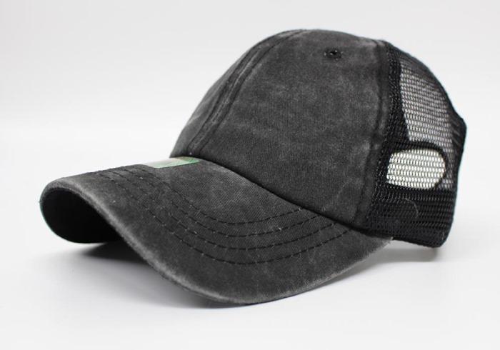 ロークラウン low profile Pit bull メッシュキャップ トラッカーキャップ 顔料染 Pigment dyed trucker hat cap headwear トラッカー