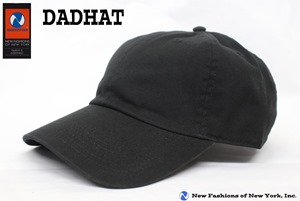 ダッドハット DADHAT コットンキャップ ベーシック LOW PROFILE 浅いキャップ newhattan ニューハッタン