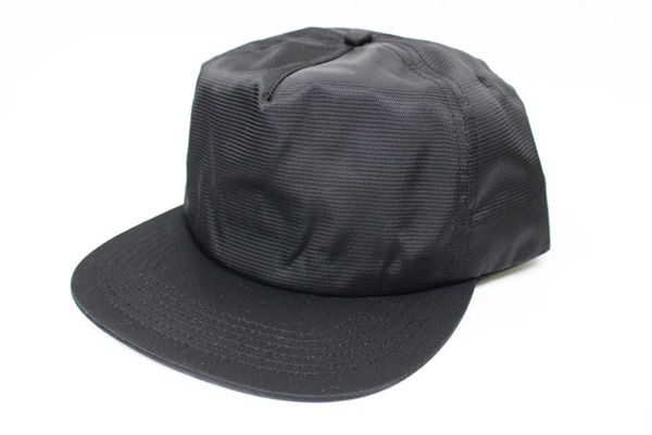 nylon cap black