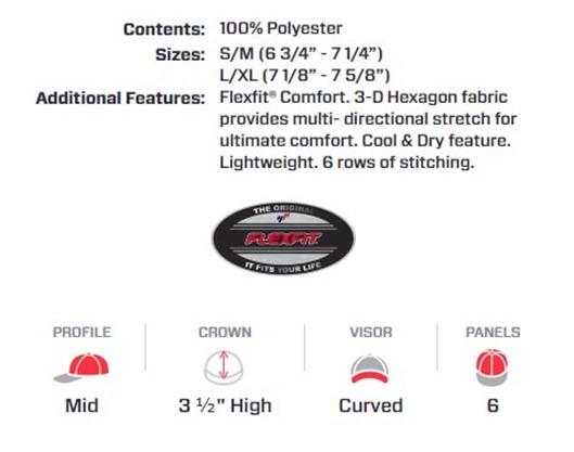 オリジナル刺繍 刺繍キャップ オリジナルキャップ メッシュキャップ ベースボールキャップ フレックスフィット flexfit cool dry hexagon jersey cap cool & Dry 刺しゅうキャップ 刺繍ワッペン スパンコール 3D刺繍 野球帽 草野球 アウトドア スポーツ