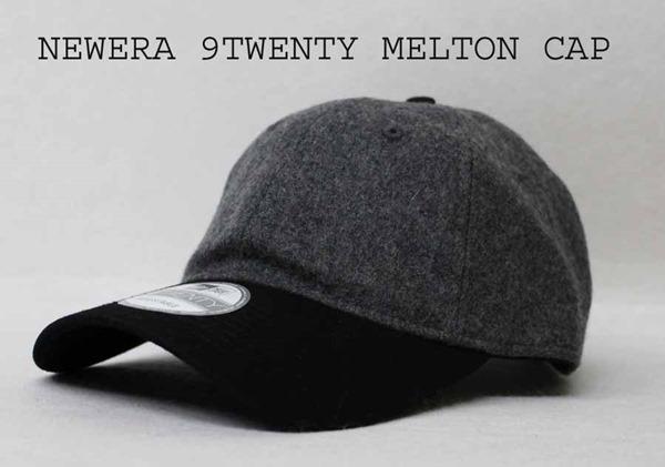 オリジナル刺繍 刺繍キャップ ニューエラ NEWERA 920 9TWENTRY メルトン melton