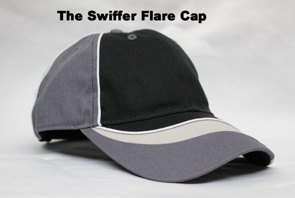 The Swiffer Flare Cap オリジナル刺繍 刺繍キャップ オリジナルデザイン 刺繍注文 刺繍オーダー 特注刺繍