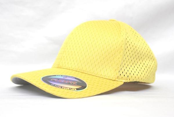 ベースボールキャップ 野球帽 高校野球 野球部 ユニフォーム 野球キャップ メッシュキャップ フレックスフィット flexfit ツインメッシュ アスレチックキャップ
