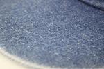 DN8160 KNP HEADWEAR DENIM デニム flat bill visor newera フラットバイザー ダッドハット dadhat ジーンズ jeans leather strap レザーストラップ 革のストラップ ウオッシュドデニム washed denim オリジナル刺繍 刺繍キャップ 注文 オーダー 発注 特注