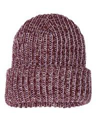 オリジナル刺繍 刺繍キャップ chunky knit cap beanie チャンキー ニットキャップ ビーニー 極太毛糸