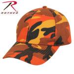 オリジナル刺繍 刺繍キャップ ロスコ ROTHCO カモフラージュ color camo
