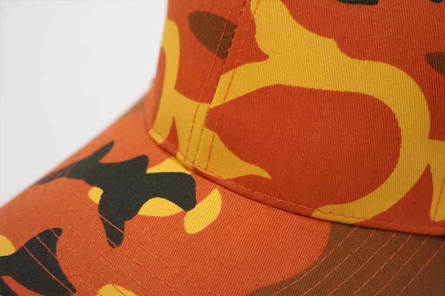 ロスコ rothco カラーカモ color camo ダッドハット dadhat カモフラージュ オリジナル刺繍 刺繍キャップ オーダー